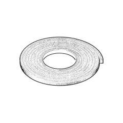 Foam Strip Draught Seal - White 5 m