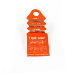Fuse Wire Card - 5, 15 & 30A