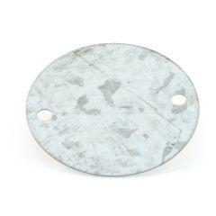 Metal Conduit Round Galvanised Steel Box Lid