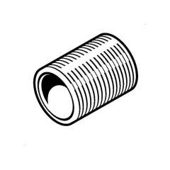 Metal Conduit Galvanised Steel Nipple - 20mm
