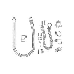 Gas Cooker Installation Kit No.3 – LPG