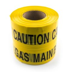 Gas Underground Yellow Marker Tape - 365m