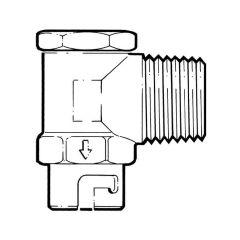 "GASM8 Angled Micropoint Bayonet Socket - 1/2"" BSP TM"