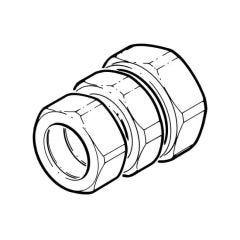 Gastite Copper Compression Fitting - DN25 x 28mm