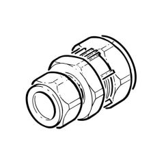 GFS® Compression Coupling - DN20 x 15mm
