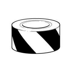 Hazard Warning Tape - 50mm x 33m