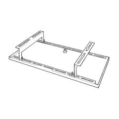 Heat Pump Wall Bracket Drip Tray - 1100 x 400mm