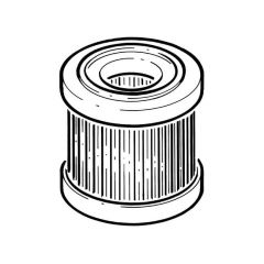Heating Oil Inline Filter Replacement Paper