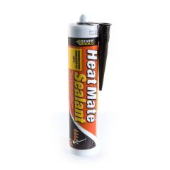 Heatmate Silicone Sealant High Temp. - Black 295ml