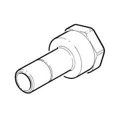"""Hep2O® Adaptor - 15mm Spigot x 1/2"""" BSP TF"""
