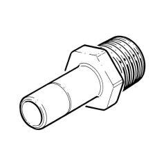 """Hep2O® Adaptor - 22mm Spigot x 3/4"""" BSP TM"""
