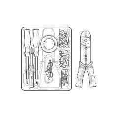 Hilka Crimping Tool Set - 81 Pieces