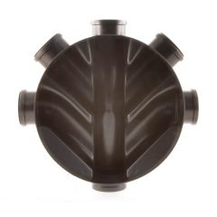 Inspection Chamber Base 220 mm - With 3 Blanking Plugs