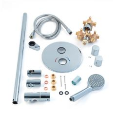 Inta Trade-Tec Concealed Thermostatic Shower Kit
