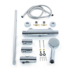 Inta Trade-Tec Thermostatic Bar Shower Kit
