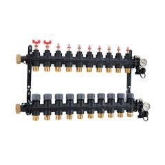 Inta Underfloor Heating Polymer Manifold - 10 Ports
