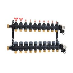 Inta Underfloor Heating Polymer Manifold - 11 Ports