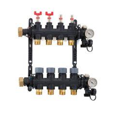 Inta Underfloor Heating Polymer Manifold - 6 Ports