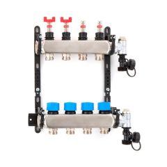 Inta Underfloor Heating S/S Manifold - 6 Ports