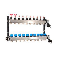 Inta Underfloor Heating S/S Manifold - 9 Ports