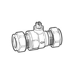 Inta Wondervalve Lite - 15mm Comp., 8 l/m
