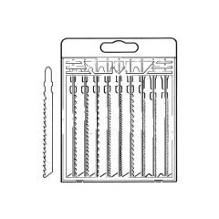 Irwin® Jigsaw Blades - 10 Pieces