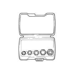 Irwin® Bolt-grip™ Fastener Remover Set - 5 Pieces