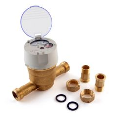 "Itron Aquadis+ Cold Water Meter - 20mm, 3/4"" BSP"