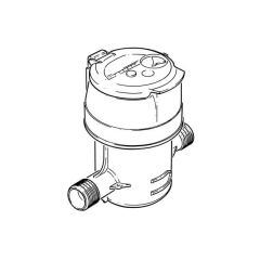 "Itron Aquadis+ Cold Water Meter - 40mm, 1.1/2"" BSP"