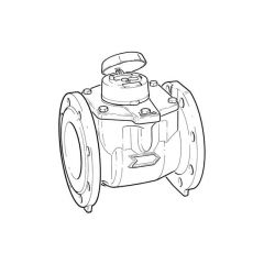 """Itron Woltex Cold Water Meter - 4"""" DN100"""