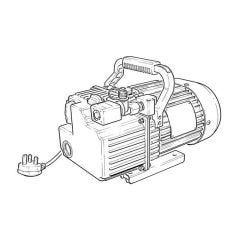 Javac Bulldog A2L Vacuum Pump - 240V