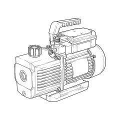 Javac CC-141 A2L Two Stage Vacuum Pump - (5.3 CFM)