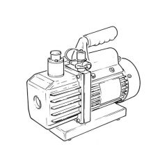 Javac CC31 Two Stage Vacuum Pump - (1.3 CFM)