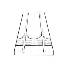 JG Underfit® Board - 1200mm x 300mm