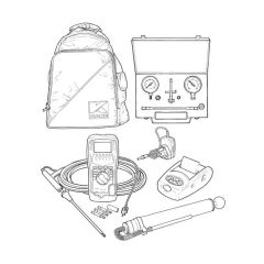 Kane 452 Flue Gas Analyser Oil Kit