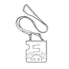 Kane 78 Carbon Dioxide Alarm & ID Card Holder