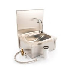 Knee Push Operated Rectangular Hand Wash Sink