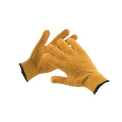 Knitted With Latex Grip - Gloves
