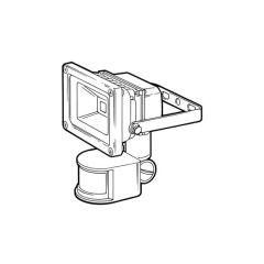 LED Floodlight with PIR - With PIR - 10 W - 820 lm
