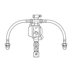 Clesse LPG Manual Changeover Kit with CSR OPSO