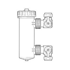 Magnaclean™ Professional Magnetic Filter - 28mm