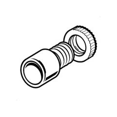 PVC Conduit Male Adaptor with Ring - 20mm