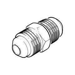 Male Oil Flare Union - 15mm