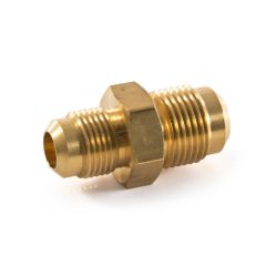 """Male Reducing Union Brass 5/8"""" x 1/2"""" flare"""