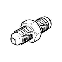 "Male Union Brass 1/4"" tube"