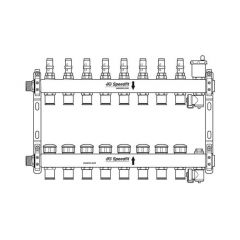 JG Speedfit Manifold - 8 Port