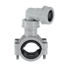 McAlpine Pipe Clamp - Grey