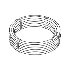 MDPE Black Mains Water Pipe - 20mm x 25m