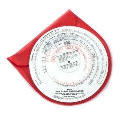 Mear Plastic Metric Gas Flow Calculators