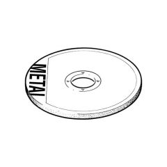 Metal Cutting Disc Flat Centre 350mm x 3mm x 25.4mm